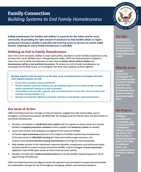 Family Connection Document Page 1