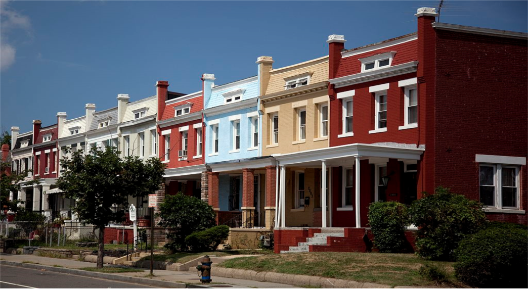 Permanent Supportive Housing Row Houses