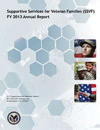 supportive services for veteran families ssv fy2013 annual report end homelessness