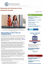 us interagency council on homelessness june 18 2014 newsletter housing first