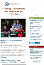 us interagency council on homelessness september 18, 2014 newsletter family homelessness tailored interventions and assistance