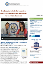 us interagency council on homelessness october 9, 2014 newsletter continuum of care program competition